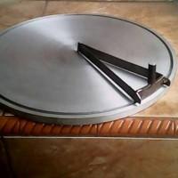 Alat D'Crepes Semi Otomatis 30cm, Crepe, Leker, Loyang Cetakan Maker