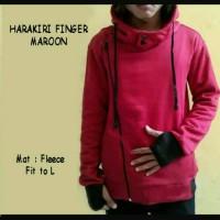 Harakiri Finger Maroon / Jaket Murah / Grosir Jaket