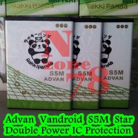 Baterai Advan Vandroid S5m Rakkipanda Double Power Protection