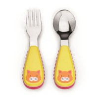 Skip Hop / Skiphop Zootensils Fork And Spoon Cat