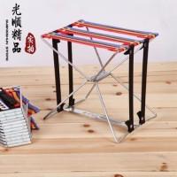 Amazing Portable Pocket Chair Kursi Bangku Lipat Kecil Kereta Piknik
