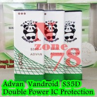Baterai Advan Vandroid S35d New S4i S3d S35h S35g Double Power