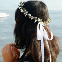 Flower Crown : Mahkota Bunga Custom Warna