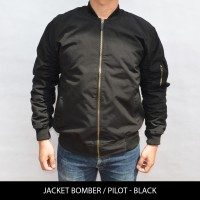 Jual Jaket Pilot / Bomber Tahan angin & Anti Air Model Slim Fit Murah