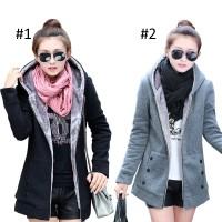 238 - Jaket Musim Dingin Wanita Stylish Tebal Bulu Dalam / Winter Coat