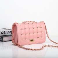 TAS TOTE IMPORT MINI SELEMPANG WANITA SHOULDER BAG STUD EMAS CLUTCH
