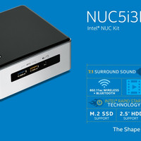 Intel Mini PC NUC Kit NUC5i3RYH Core i3