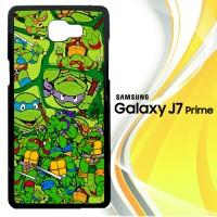 Teenage Mutant Ninja Turtles Collage Z2795 Casing HP Samsung Galaxy J