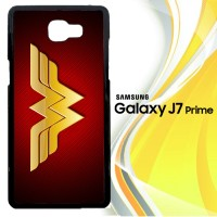 Wonder woman Logo F0248 Casing HP Samsung Galaxy J7 Prime Custom Cas