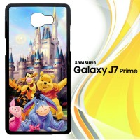 Winnie The Pooh disney Z0060 Casing HP Samsung Galaxy J7 Prime Custo