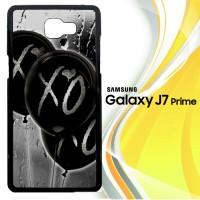 xo ballons rain L0353 Casing HP Samsung Galaxy J7 Prime Custom Case