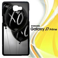 XO BLACK BALLOONS Z1231 Casing HP Samsung Galaxy J7 Prime Custom Cas