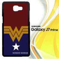 Wonder Woman Comics X3053 Casing HP Samsung Galaxy J7 Prime Custom C