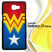 wonder women logo R0300 Casing HP Samsung Galaxy J7 Prime Custom Cas
