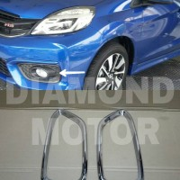 Ring Foglamp Chrome Honda Brio 2016 Besar
