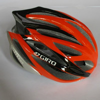 Helem Sepeda GIRO Livestrong - Warna Oranye Hitam