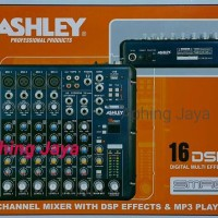 ASHLEY SMR8 Channel Mixer With 16 DSP Digital Effects & MP3 Player