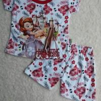 Baju Anak Perempuan Princess Sofia / Baju Setelan Anak Sofia Frozen