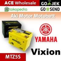 harga Aki Yamaha Vixion MOTOBATT MTZ5S/ kering motor u/ GS Yuasa Tokopedia.com
