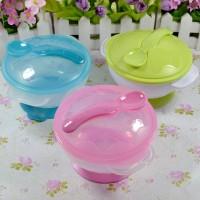 baby suction bowl (mangkok anti tumpah tempat makan anak bayi murah)
