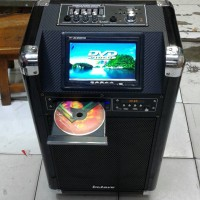 speaker portable with DVD Monitor Display 7 in,USB,MP3 Betavo(10 inc)