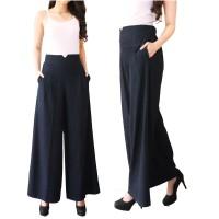 Jual Celana Kulot Denim Posey / Celana Panjang / Long Pants / Bawahan Murah