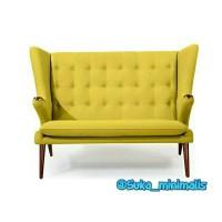 Sofa retro yellow