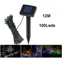 Solar Powered Garden Decoration Light 100 LED 12 Meter