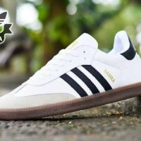 harga Sepatu Pria Casual Adidas Samba Clasik Made In Vietnam Asli Import Tokopedia.com