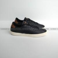 Original Made In Indonesia.. Sepatu Adidas Neo VL Court Black Leather
