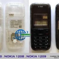 harga Casing Nokia 1200/1208 Fullset Transparan + Tulangan Tokopedia.com