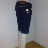 Celana Jeans DC skinny/stretch pendek pria Blueblack size 27 - 32