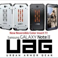 Samsung Galaxy Note 2 Bumper Armor UAG Hard Case Back Cover Case
