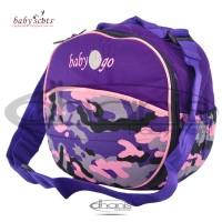 Tas Bayi Baby Scots Diaper Bag Baby 2 Go 010 Army - Ungu