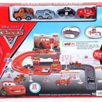 Park Garage Cars Kecil Mainan Anak