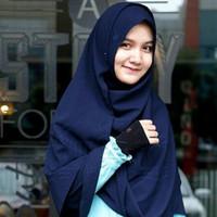 Hijab Syar'i Alila - Khimar Daisy Dongker
