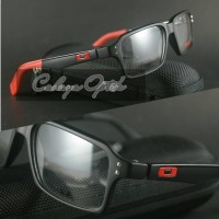 Frame Kacamata Oakley FatCat Black Red