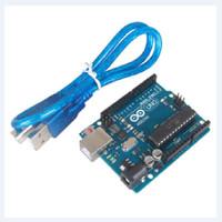 ARDUINO UNO R3 WITH DATA CABLE DIP IC ATMEGA328 ATMEGA 16U2 SERIAL