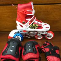 sepatu roda inline skate bajaj karakter power aosite free dekker