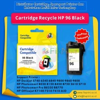 Cartridge Recycle HP 96 Black C8767WN, Printer HP Deskjet 5740, 6540