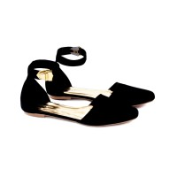 harga Sepatu Wanita Santai/ Flat Shoes Hitam Distro Garucci/ Sandal Murah Tokopedia.com