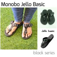 harga Sandal - Monobo Jello Basic Black Series Tokopedia.com