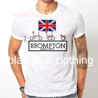 tshirt BROMPTON ENGLAND SINCE 1975 (bdc)