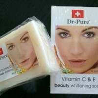 Dr-pure beauty whitening soap rice milk