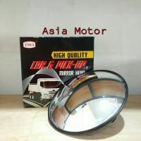 harga Kaca Spion Bulat 10in (Truck/Trailer/Tronton/Fuso) Tokopedia.com