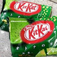 kitkat green tea jepang asli