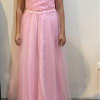 Dress pesta Soft pink