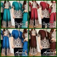 Baju Couple Azalea ( Sepasang Dress Wanita + Kemeja Pria )