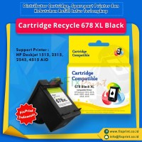 Cartridge Recycle HP 678 Black XL CZ107AA, Tinta Printer HP 1515 2515