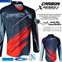 Jual Jersey sepeda STR Carbon X2 Super Adem dijamin CoolTech Waffle Murah